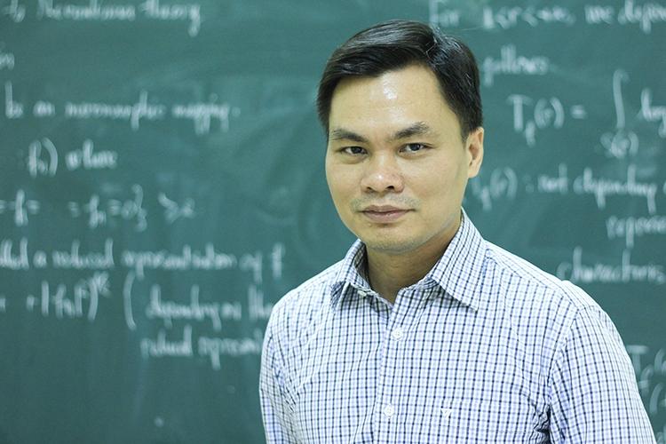 Thầy Sỹ Đức Quang. Ảnh: Dương Tâm