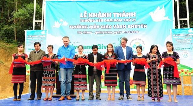 Trường Vành Khuyên sẽ là một bước đệm tạo sự khởi đầu mới cho tương lai các em vùng đồng bào dân tộc thiểu số còn gặp nhiều khó khăn của huyện Tây Giang