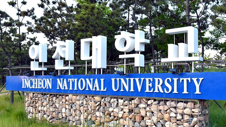 Đại học Quốc gia Incheon. Ảnh: SBS