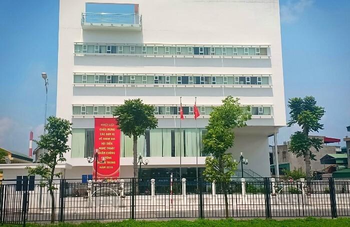 Trụ sở UBND phường Quang Trung. Ảnh: Cổng thông tin điện tử Uông Bí
