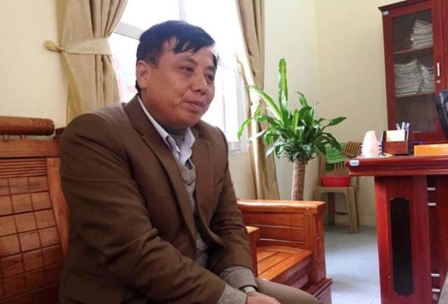 Ông Tống Duy Tân, Chủ tịch UBND xã Hà Tiến