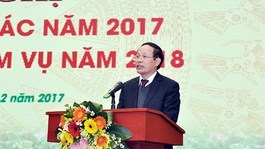 Tổng cục trưởng Tổng cục Môi trường Nguyễn Văn Tài.
