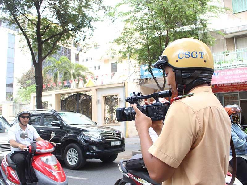 Giải thích quy định của Bộ Công an về quay phim CSGT - ảnh 1