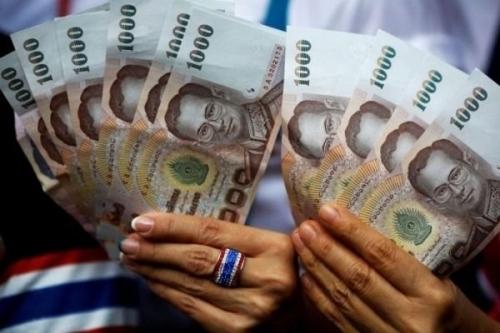 Đồng baht của Thái Lan. Ảnh:Reuters