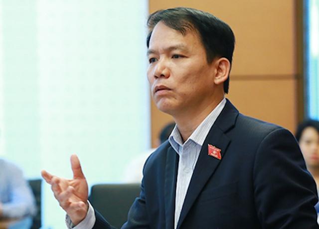 Ông Hoàng Thanh Tùng, Chủ nhiệm Uỷ ban Pháp luật. Ảnh: MĐ