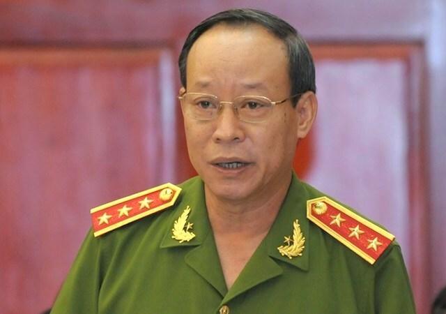 Thượng tướng Lê Quý Vương, Thứ trưởng Công an. Ảnh: Hiếu Duy
