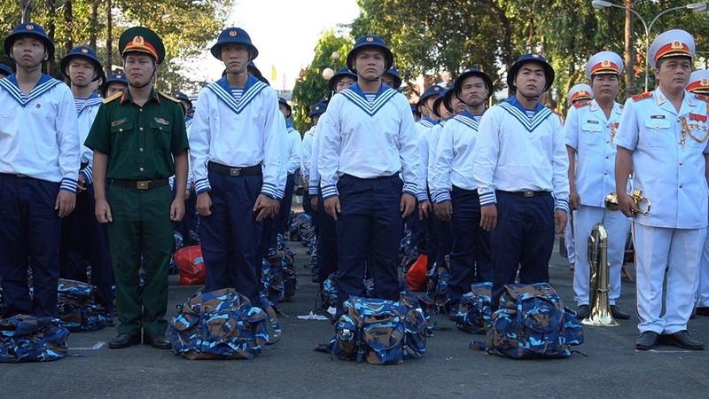 TP.HCM: Gần 4.500 thanh niên lên đường nhập ngũ - ảnh 2