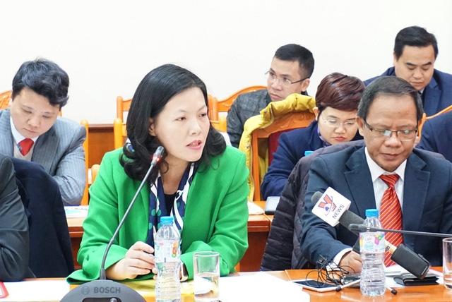 Bà Nguyễn Hoàng Thúy: Việc đàm phán ở thị trường Úc kéo dài khá nhiều thời gian, vì vậy, cần tìm giải pháp làm thế nào để rút ngắn quá trình đàm phán.