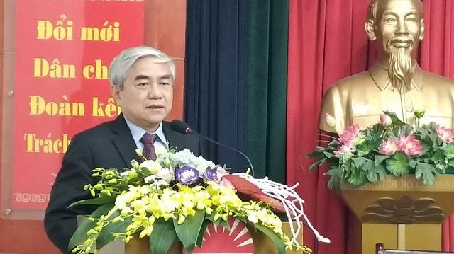 TS Nguyễn Quân – Nguyên Bộ trưởng Bộ KH&CN, Chủ tịch Hội VAA.