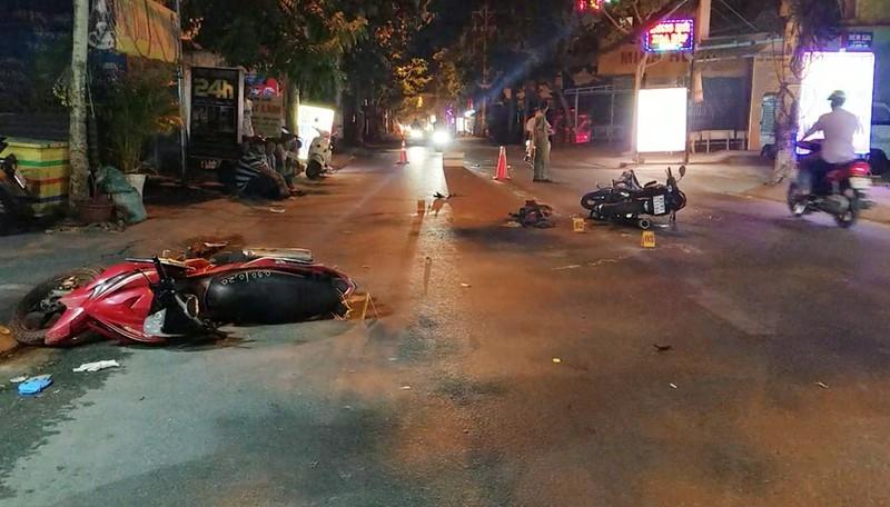Nghi trộm chó phóng xe người đi đường ở Bình Tân - ảnh 1