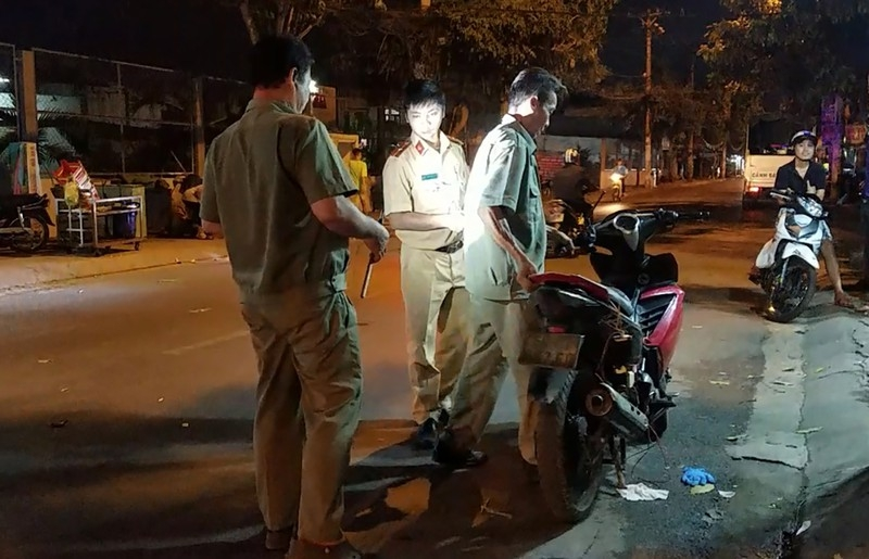 Nghi trộm chó phóng xe người đi đường ở Bình Tân - ảnh 2
