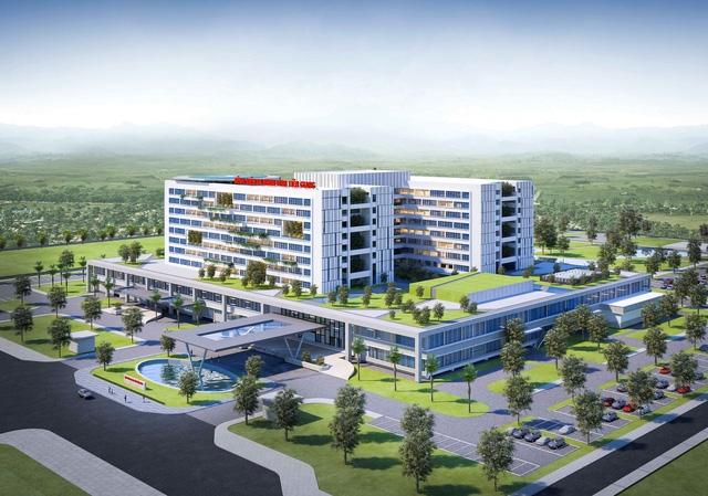 Xây dựng bệnh viện có bãi đỗ trực thăng tại Tiền Giang - Ảnh 1.