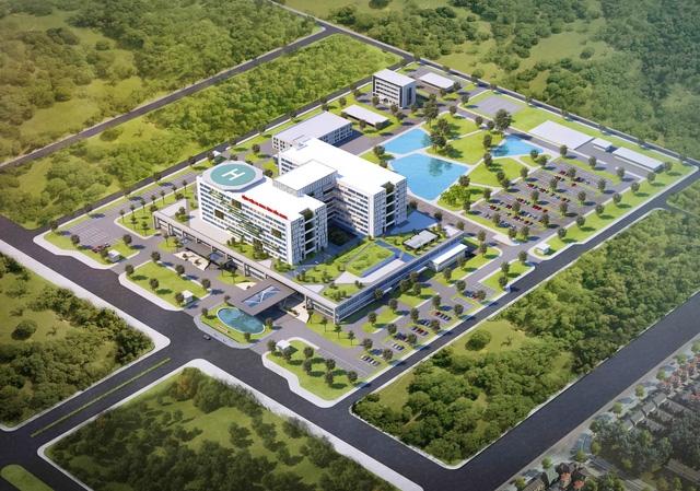 Xây dựng bệnh viện có bãi đỗ trực thăng tại Tiền Giang - Ảnh 2.