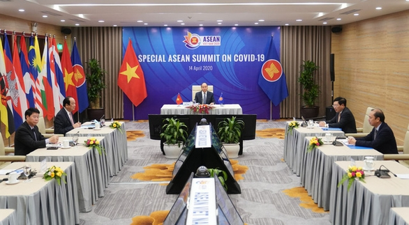 Dịch COVID-19 chiều 14-4: Lãnh đạo ASEAN họp trực tuyến về dịch bệnh - Ảnh 2.