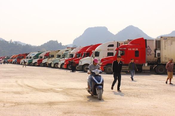 Khôi phục thời gian thông quan chợ biên giới Tân Thanh - Pò Chài - Ảnh 1.