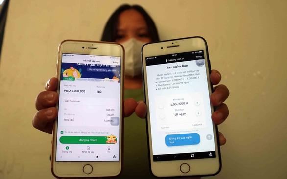 Cho vay nặng lãi Trung Quốc tràn vào Việt Nam, lãi suất hơn 1.000%/năm - Ảnh 1.
