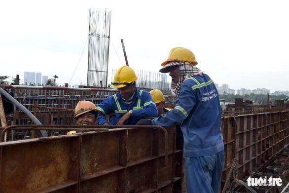 Chủ đầu tư dự án chống ngập 10.000 tỉ hứa vận hành vào tháng 10 - Ảnh 4.