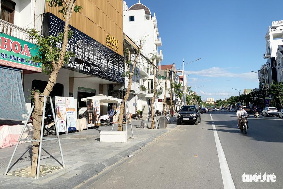 Hàng loạt cây xanh thành phố Vinh bị vặt trụi trong nắng nóng 40 độ - Ảnh 13.
