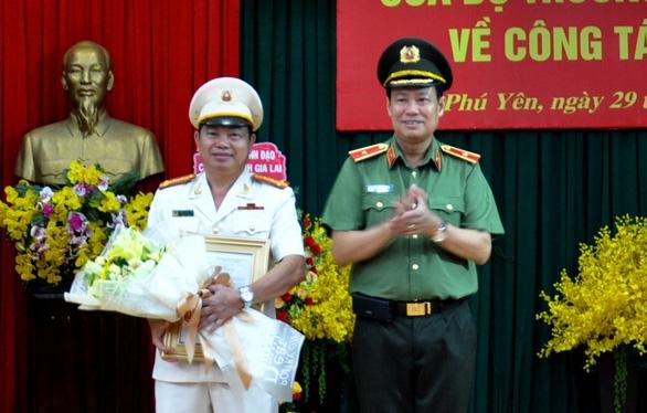 Phó giám đốc Công an Gia Lai làm giám đốc Công an Phú Yên - Ảnh 1.