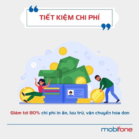 MobiFone Invoice - Lợi ích khi dùng hóa đơn điện tử cho doanh nghiệp - Ảnh 3.
