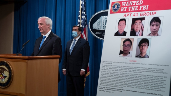 Mỹ buộc tội tin tặc Trung Quốc, Malaysia - Ảnh 1.