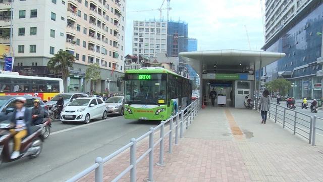 Buýt nhanh Hà Nội (ảnh minh hoạ)