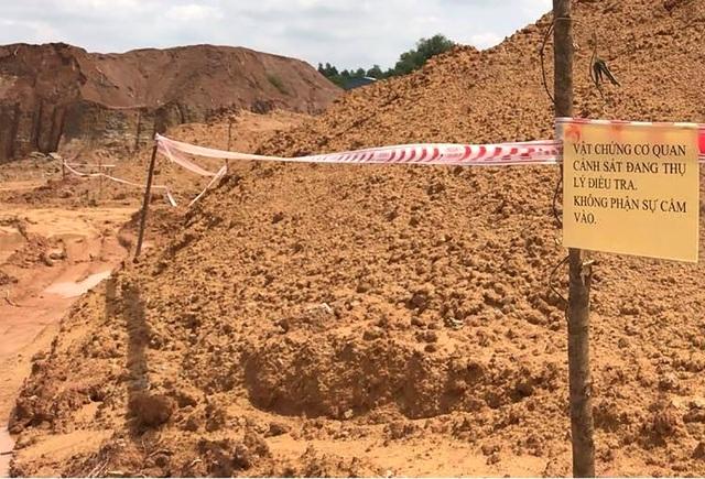 Khai thác khoáng sản trái phép, công ty của cựu CSGT bị điều tra - 1