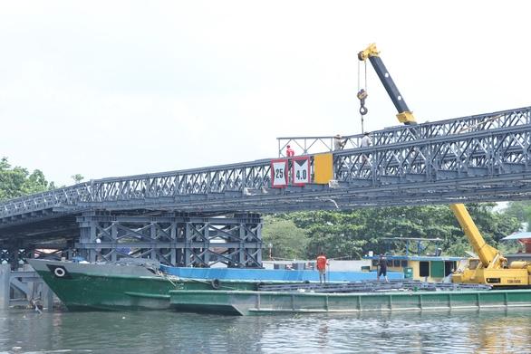 Chủ sà lan đụng cầu An Phú Đông bị đề nghị bồi thường 1 tỉ đồng - Ảnh 1.
