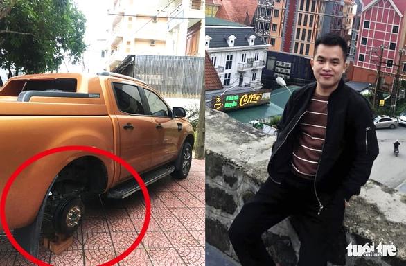 Sắp lấy vợ, tài xế vẫn đi tháo trộm nhiều bánh xe ôtô - Ảnh 1.