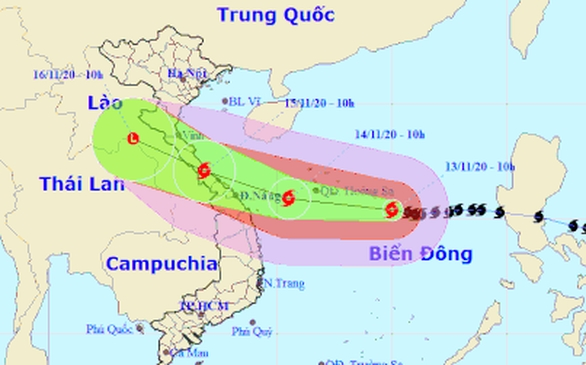 Các tỉnh miền Trung lên kế hoạch sơ tán 135.000 hộ dân tránh bão số 13 - Ảnh 3.