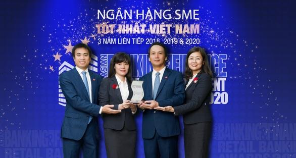 BIDV tiếp tục là 'Ngân hàng SME tốt nhất Việt Nam' - Ảnh 1.