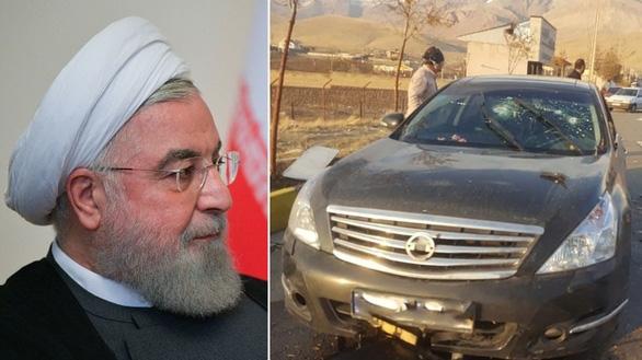 Các lãnh đạo Iran dọa trả đũa vụ ám sát cha đẻ hạt nhân Iran - Ảnh 1.