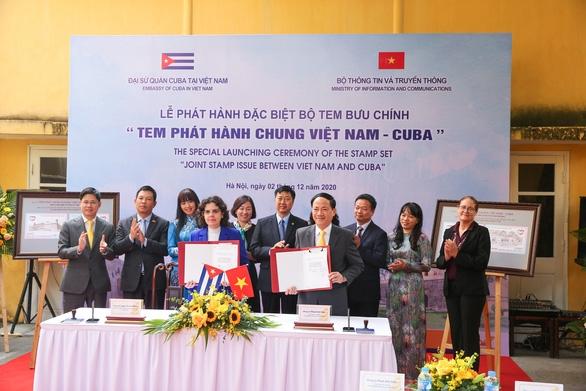 Việt Nam và Cuba phát hành chung bộ tem đặc biệt - Ảnh 1.