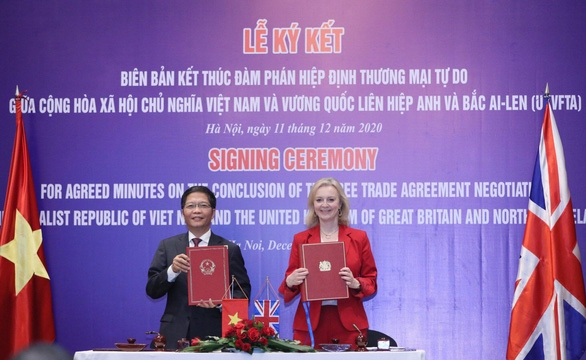 Hơn 99% dòng thuế xuất khẩu sang Anh được xóa bỏ nhờ FTA Việt - Anh - Ảnh 1.