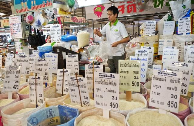 Xuất khẩu gạo của Thái Lan giảm xuống mức thấp nhất trong vòng 20 năm - Ảnh 1.