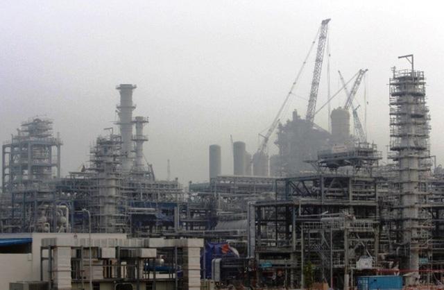 Dự án lọc hóa dầu Nghi Sơn chuẩn bị cho sản phẩm đầu tháng 5/2018