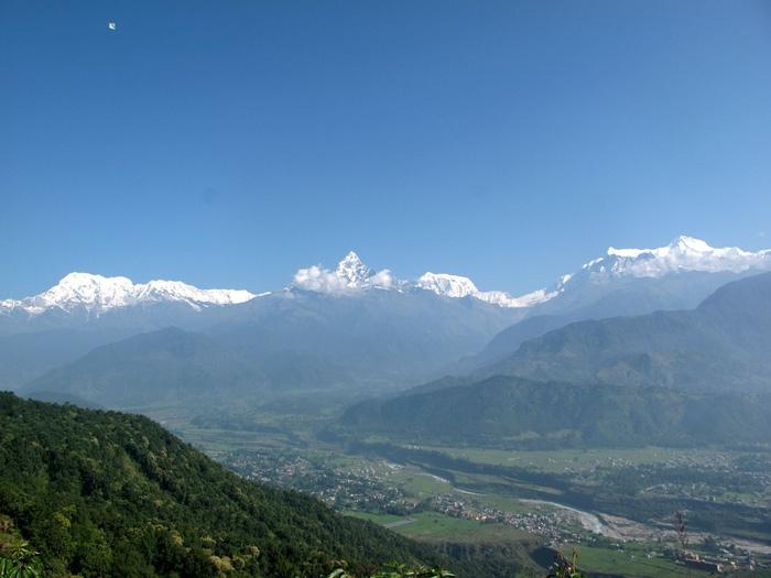 Đến Sarangkot ngắm bình minh trên dãy Himalaya - Ảnh 6.