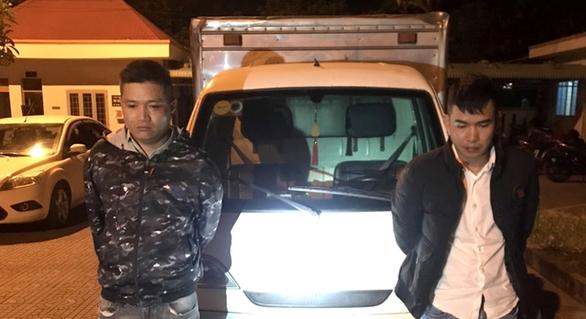 2 thanh niên dùng 'chiêu độc' lừa đảo liên tỉnh hàng chục vụ - Ảnh 1.