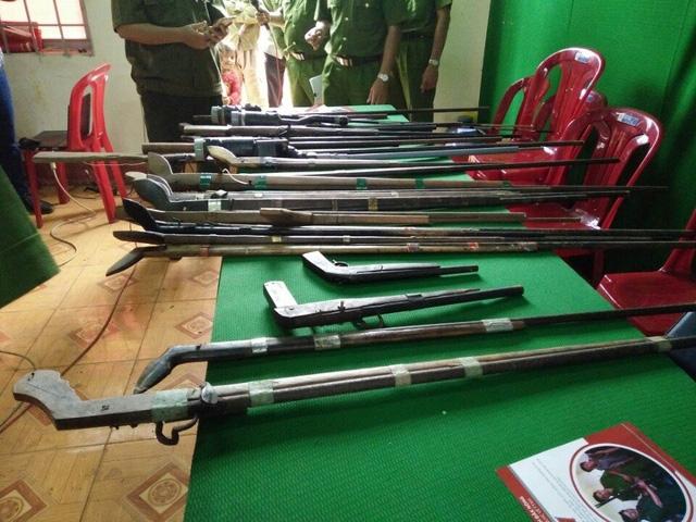 Tại Đắk Nông, nhiều người vẫn dùng súng tự chế để săn bắn