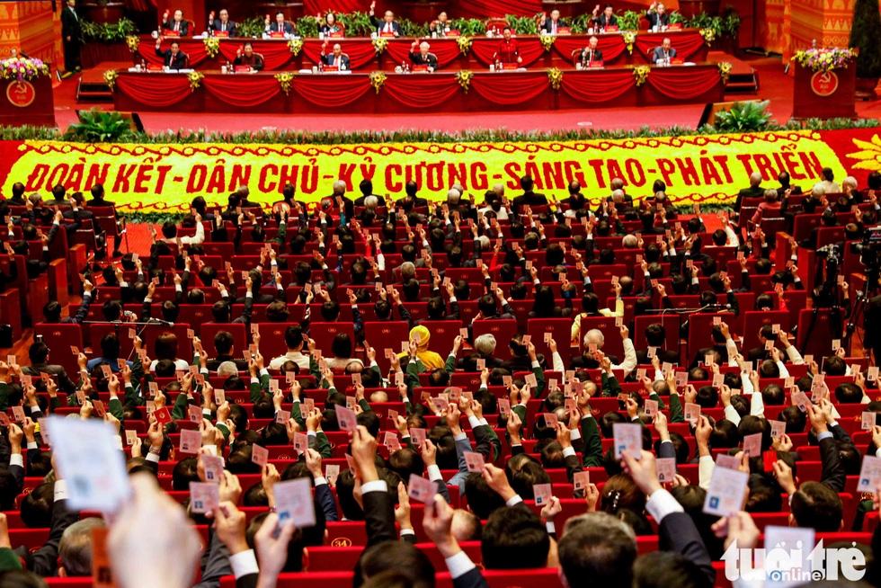 Những hình ảnh ghi dấu tại lễ bế mạc Đại hội XIII - Ảnh 4.