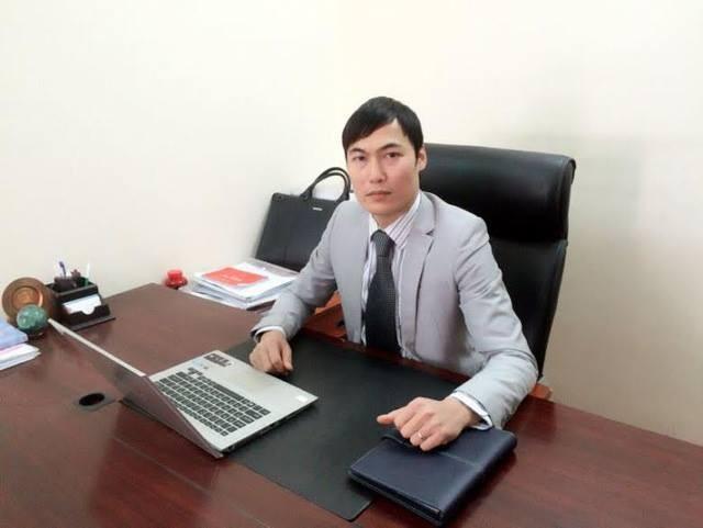 Luật sư Quách Thành Lực - Giám đốc Công ty Luật TNHH Hà Nội Tinh Hoa.