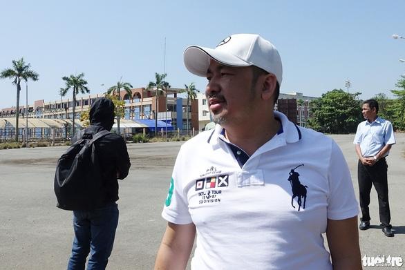 Chủ tịch CLB Sài Gòn khảo sát Trung tâm Thành Long để chuẩn bị cải tạo - Ảnh 1.