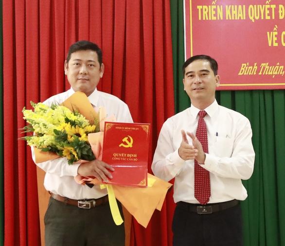 Bình Thuận điều động, bổ nhiệm hàng loạt cán bộ chủ chốt - Ảnh 1.