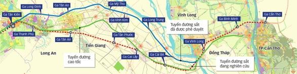 Diện mạo mới tuyến đường sắt TP.HCM - Cần Thơ - Ảnh 1.