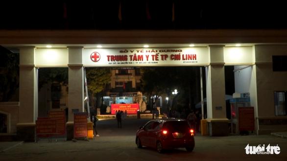 Trung tâm Y tế Chí Linh hoạt động trở lại từ chiều 5-3 - Ảnh 1.