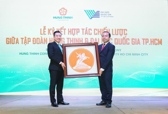 Tập đoàn Hưng Thịnh và Đại học Quốc gia TP.HCM ký kết hợp tác chiến lược - Ảnh 4.