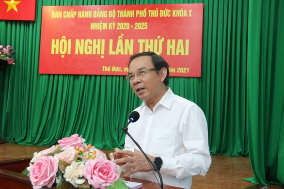 Bí thư Nguyễn Văn Nên yêu cầu sớm thống kê nhà đất công ở TP. Thủ Đức để có kế hoạch sử dụng - Ảnh 1.