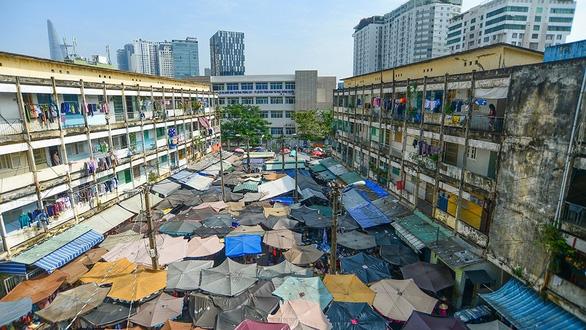 Hơn 600 chung cư hư hỏng nặng cấp C, cấp D, cải tạo chưa tới 10% - Ảnh 1.