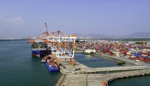 Bất chấp dịch COVID-19, cảng Cái Mép - Thị Vải đón tàu đi bờ Tây nước Mỹ - Ảnh 2.