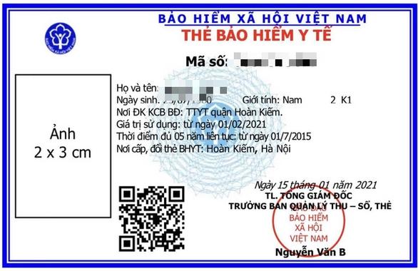Tấm ảnh trên chiếc thẻ bảo hiểm - Ảnh 1.